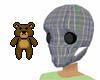 Dvbl Skull w/eyes {f}