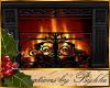 I~CozyIronWall Fireplace