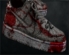 bloody air force ones
