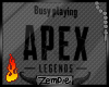 Z; Playing Apex Sign