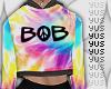 Y: rq Bob Tiedye hoodie