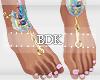 (BDK)Ankle feet beach