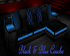Black and Blue Couche