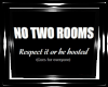 DD! NO Double Rooming