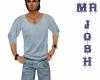 JOSH shirt pastel blue