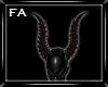 (FA)Reaper Horns Red