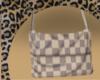 White Lv Bag