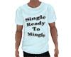 Single Tee-Shirt Blue