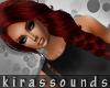 K  Sibilla Hair / Red