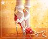 ✩ S Rose Ribbon Heels