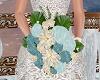 Wedding Bouquet Blue 2