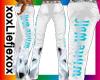 [L] White Wolf Pants