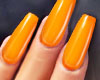 GEL Coffin Nails MANGO
