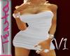 *~T~*Wht Fitted Dress v1