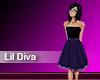 (M) Lil Diva Purple/Blue