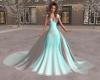 Elegant Blue/White Wedd