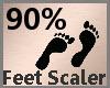 Feet Scaler 90% F