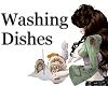 Washing Dishes animated