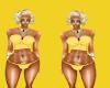 (DD) yellow underwear