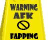 [MJ] AFK Warning Sign