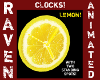 ANIMATED LEMON CLOCK!