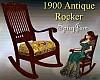 Antique 1900 Rocker Yelo