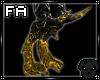 (FA)FireDragonLegs Gold