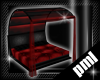 [PLM] cover bed red