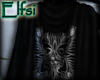 E~ Black elven Scout cap
