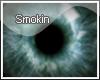 Smokin~blue eyes