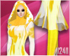 24: Yellow Plain Hijab