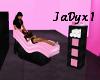 Pink Massagen Chair