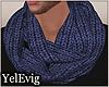 [Y] Blue scarf M
