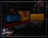 D- Attic Wooden Train