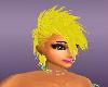 Mohawk Yellow Rave Hair