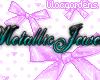 MetallicJewelz NameTag#2