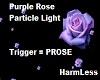 Purple Rose Particle