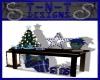 !TD Blue Christmas Table