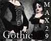 Gothic Mini Goddess Gown
