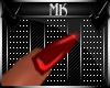 !Mk! PVC Red Nails