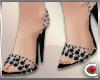 *SC-Black Sparkle Heels