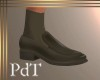 PdT Loafer Dk Taupe wSox
