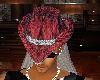 red black snake hat