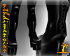 PVC Thigh Boots Black v2