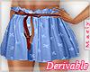 м| Western .Skirt|DRV