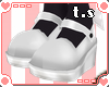 *ts* Dolly Shoes [White]