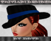 D Mafia Lady Hat B/Blue