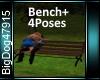 [BD]Bench+4Poses