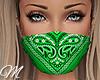 m: Bandana Green