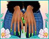 Santa Baby Nails VII